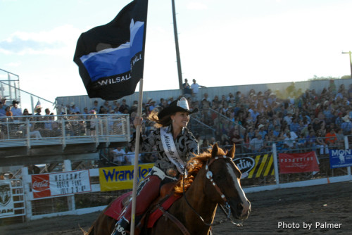 Muchacho Dually & Erika Blough, Rodeo Queen